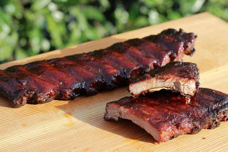 how to cook spare ribs on the grill