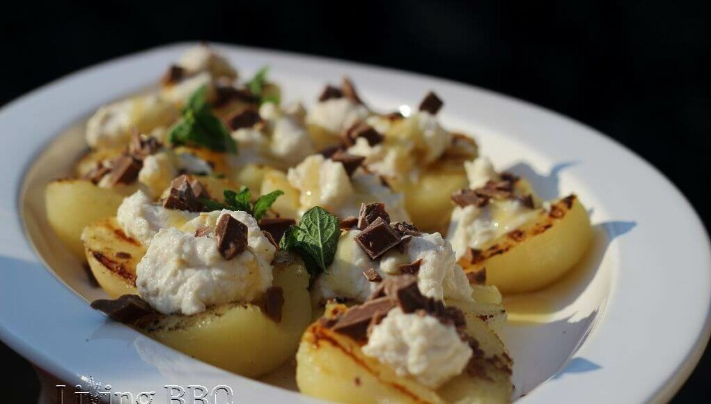 Birnen Ricotta Dessert