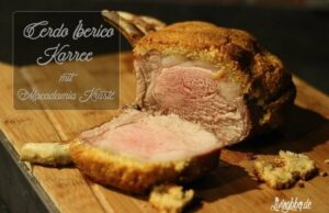 Living BBQ Iberico Karree mit Kruste
