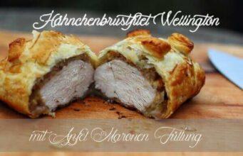Living BBQ Maronen Hähnchenbrustfilet Wellinton III