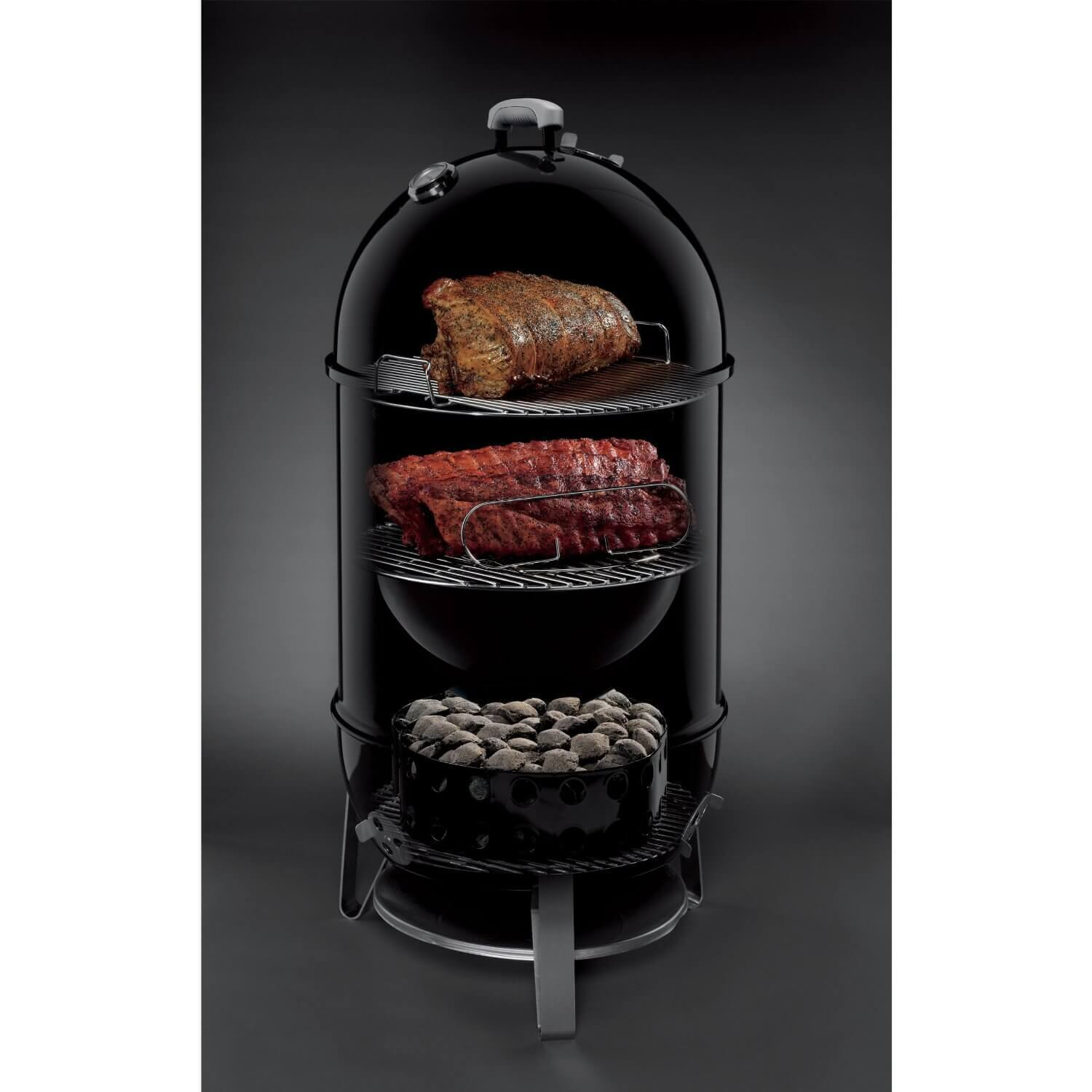test weber smokey mountain 37cm mini wsm. Black Bedroom Furniture Sets. Home Design Ideas
