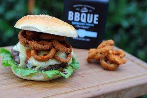 Living BBQ Burger mit Fried Onion