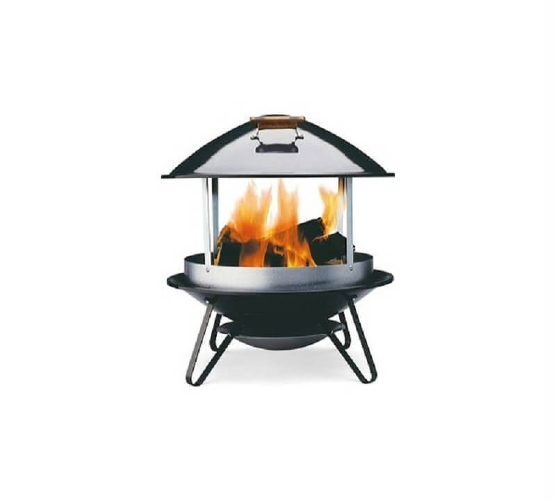 Living BBQ Fireplace alt