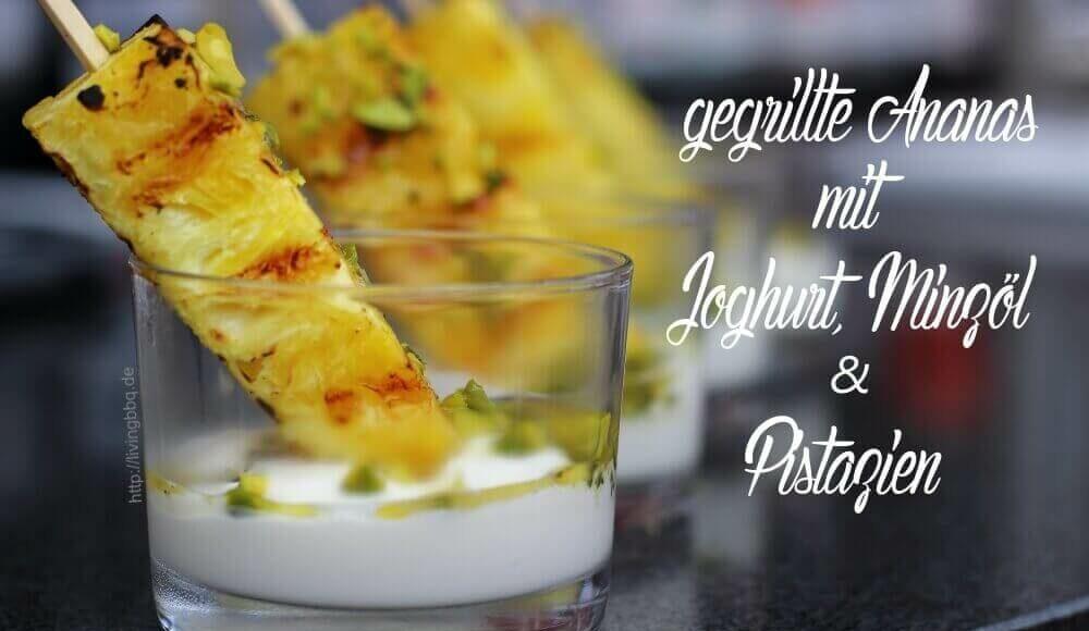 Ananas vom Grill