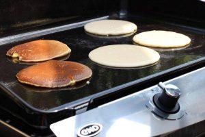 LivingBBQ Pancakes von der PlanchaIMG
