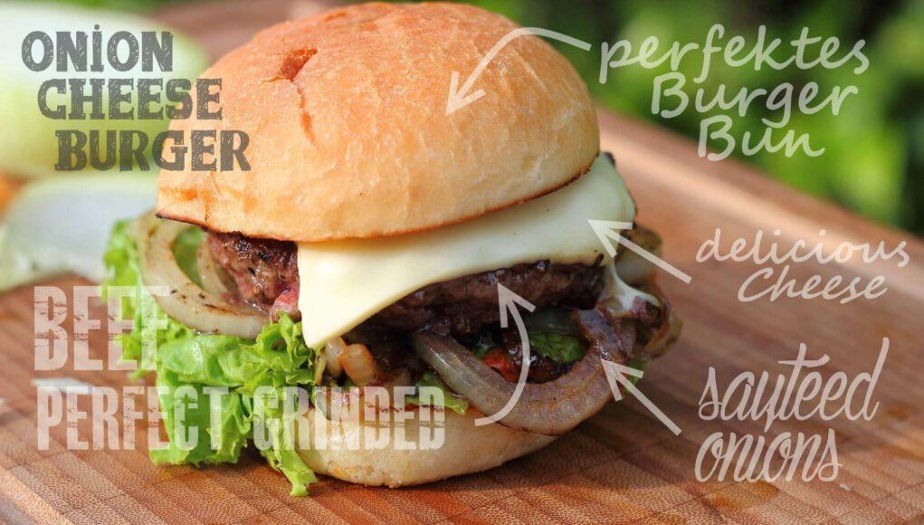 Onion Cheese Burger