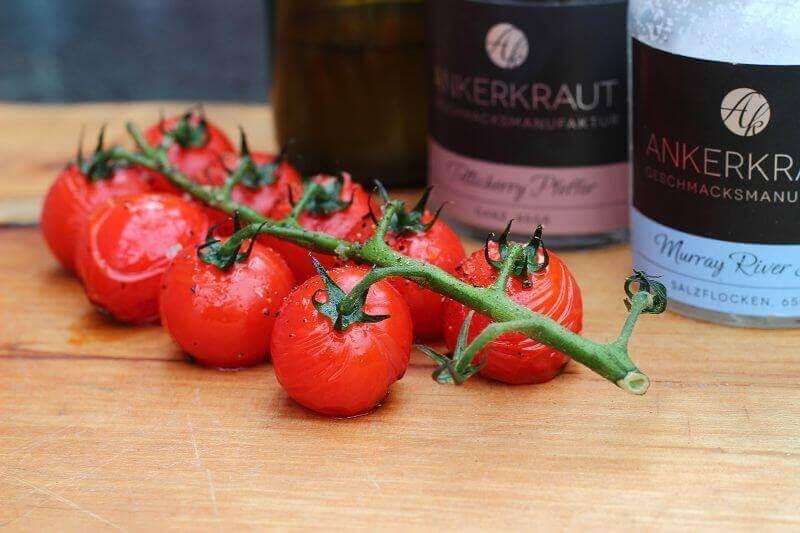 fruchtig würzige Rispentomaten vom Grill fruchtig würzige rispentomaten_LivingBBQfruchtig w  rzige Rispentomaten vom Grill