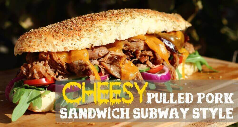 Pulled Pork Sandwich Subway
