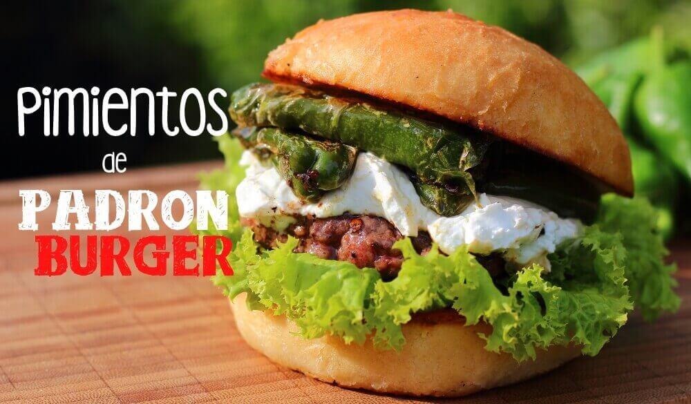 Pimientos de Padron Burger mit Ziegenfrischkäse grillrezepte_Pimientos de Padron Burger mit Ziegenfrischk  se III 1