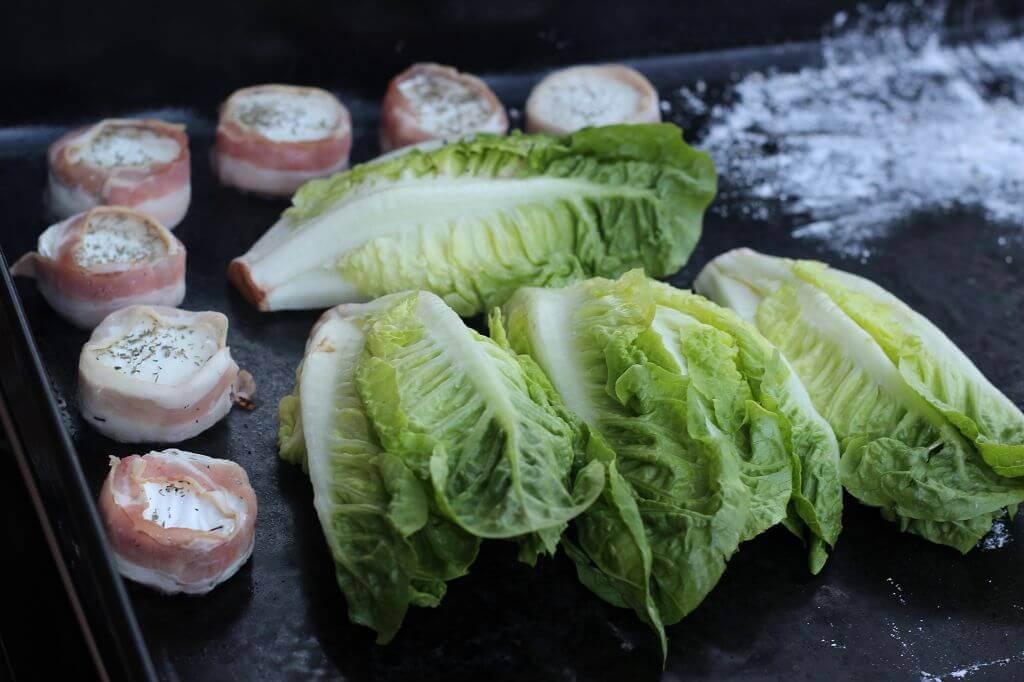 gegrillter Salat gegrillter salat_LivingBBQ Auf der Plancha