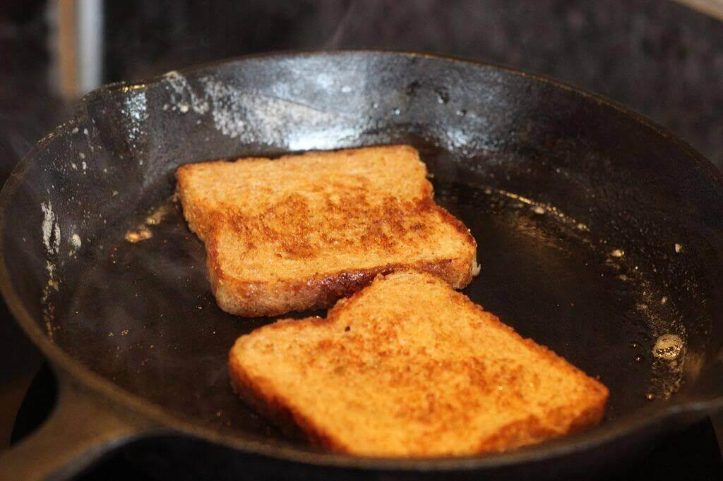 LivingBBQ Toast anbrösten erbsensuppe_LivingBBQ Toast anbr  sten