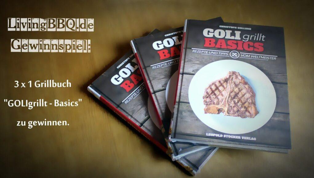 Gewinnspiel Grillbuch Goli grillt - basics