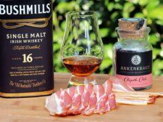 Kramellisierter Whisky Bacon
