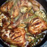 Cajun Hähnchenschenkel auf Gemüse aus dem Dutch Oven cajun hähnchenschenkel_H  hnchen mit mediterranem Gem  sen aus dem Dutch Oven 1 150x150