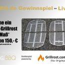 Gewinnspiel Grillrost.com