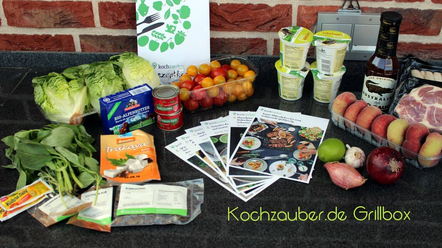 Test Kochzauber Grillbox die Box