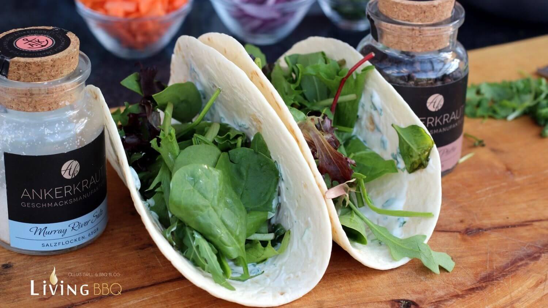 fingerfood rezept flank steak tortilla wraps grillen living bbq. Black Bedroom Furniture Sets. Home Design Ideas