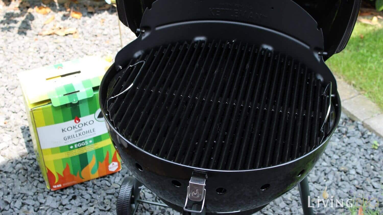 Kugel Holzkohlegrill Test : Grill test char broil kettleman kugelgrill im test living bbq