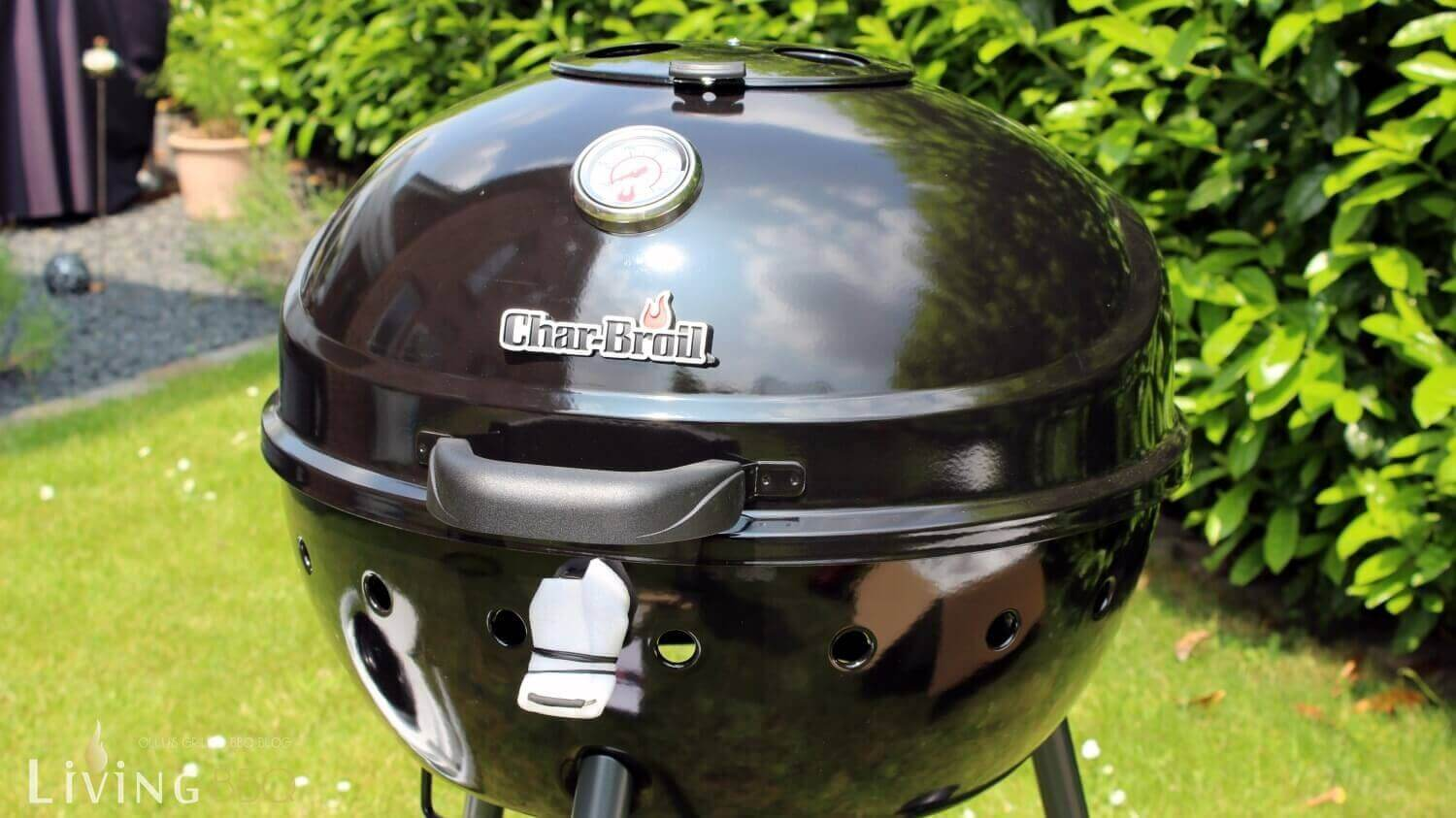 grill test: char-broil kettleman kugelgrill im test | living bbq