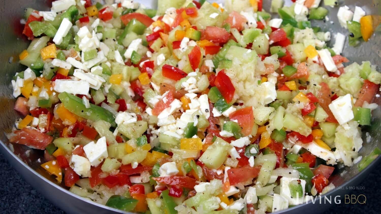 Rezept Griechischer Salat (Hirtensalat)