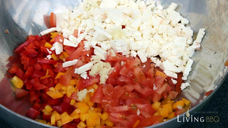 Griechischer Salat (Hirtensalat) Rezept