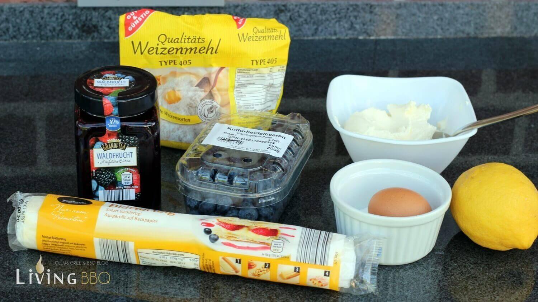 Grill Dessert Blätterteig Windräder Grill Dessert_Grill Dessert Zutaten Bl  tterteig Windr  der