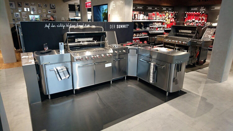 Grilltank original Weber Store Kassel Weber Summit Küche