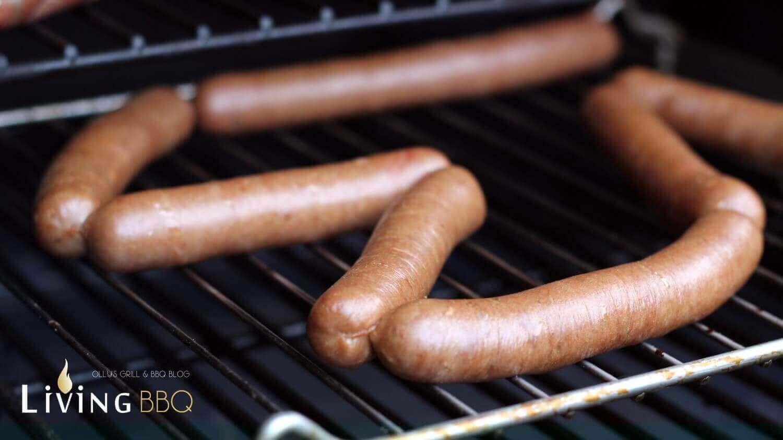 Halbzeit beim Räuchern hot dog würstchen_Hot Dog W  rstchen selber machen R  uchern
