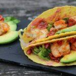 Taco Shells Mais Tortillas mit Garnelen und Avocado taco shell_Taco Shell mit Garnelen und Avocado Fingerfood 150x150