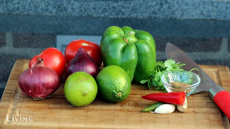 Tomaten Salsa Rezept tomaten salsa_Zutaten f  r Tomaten Salsa Rezept