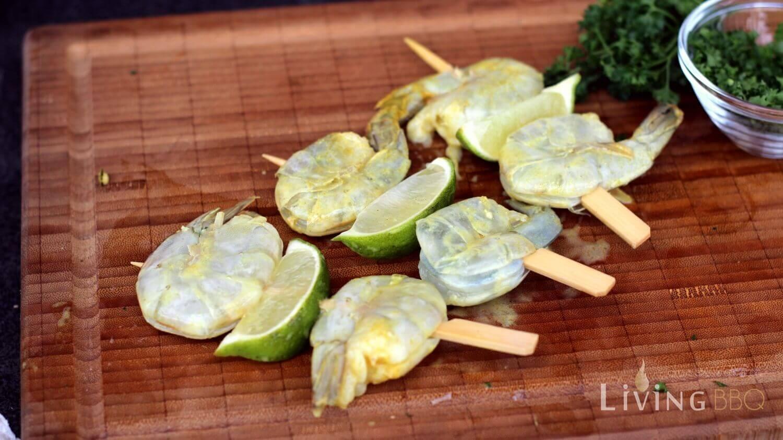 marinierte-garnelen-spiesse-limette