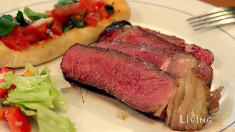 Tellerbild Steak Simmentaler Färse steak rückwärts grillen_Steak r  ckw  rts grillen Tellerbild
