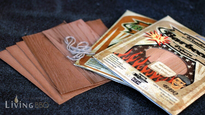 Woodpaper räucherholz_Wood Papers Woodwraps zum R  uchern