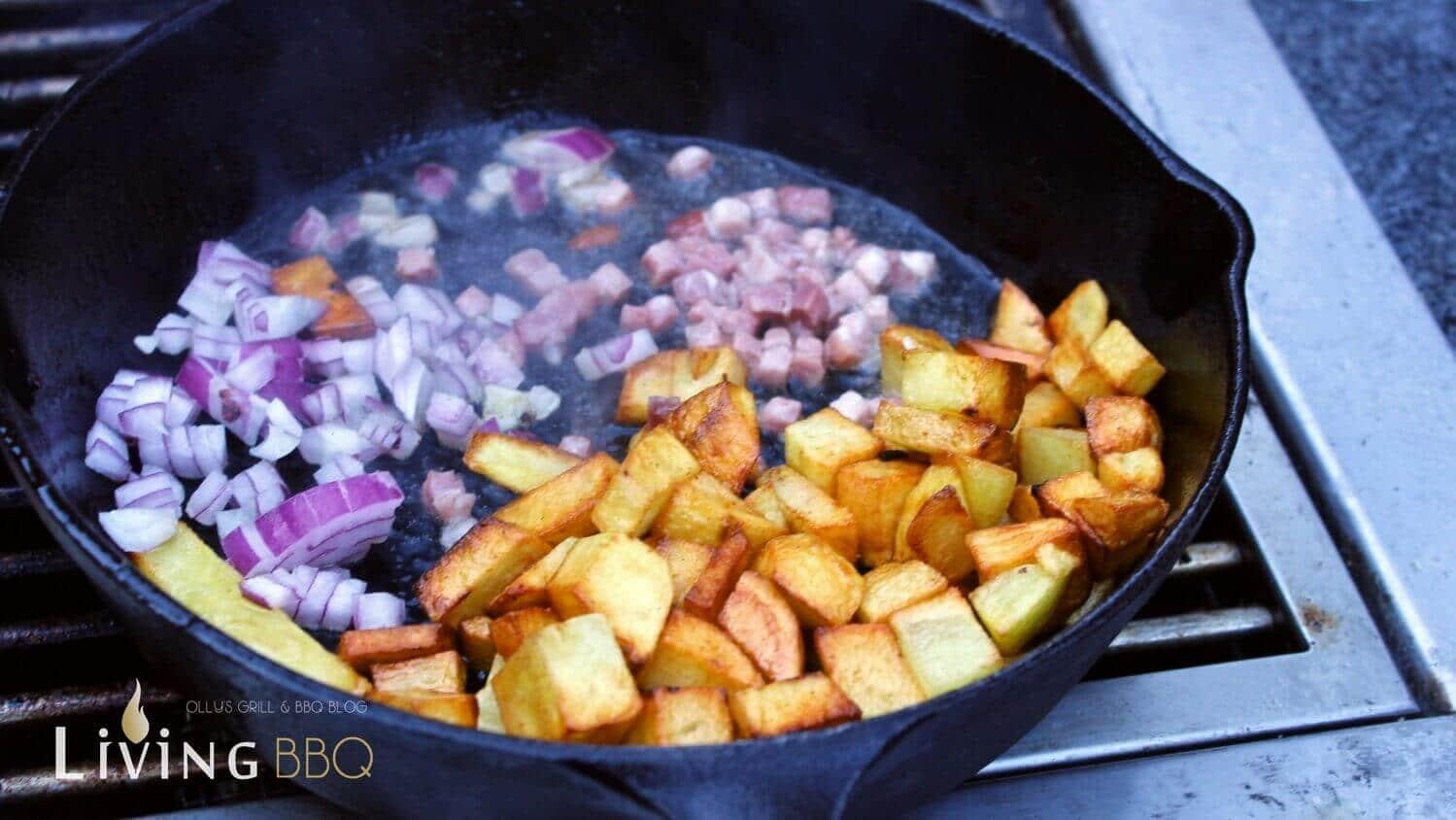 Bratkartoffeln Butterschmalz Kerrygold bratkartoffeln_Bratkartoffeln mit Speck und Zwiebeln