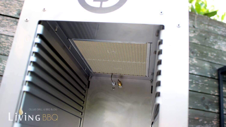 Elektrozünder und Einschubraster beefer one pro_Keramik Brenner Beefer One Pro