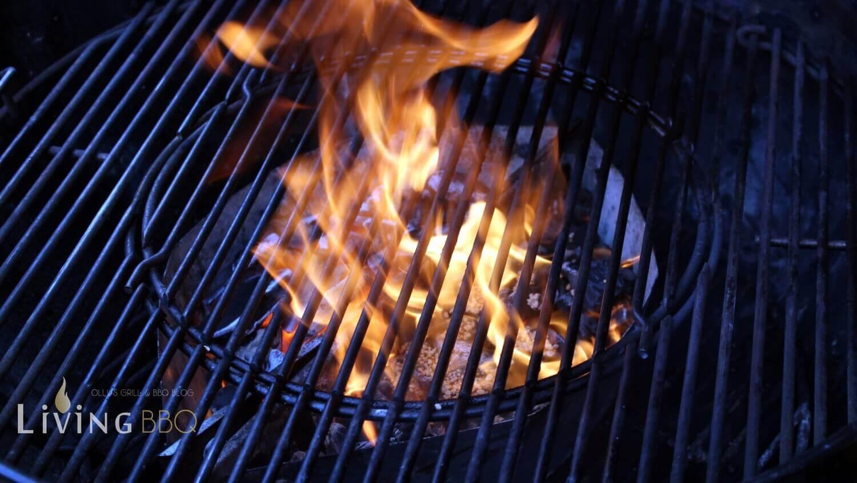 Räucherholz in Flammen matador´s bbq_Matador  s BBQ Olivenkerne nicht gew  ssert