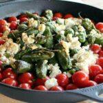 grillrezepte_Pimientos de Padron Feta Tomate Pellet Smoker 150x150