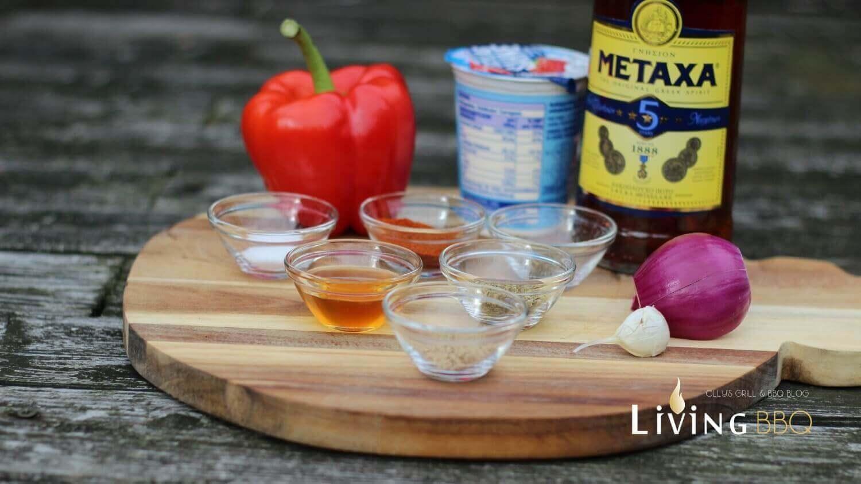 Zutaten Metaxa Sauce metaxa sauce_Rezept Metaxa Sauce