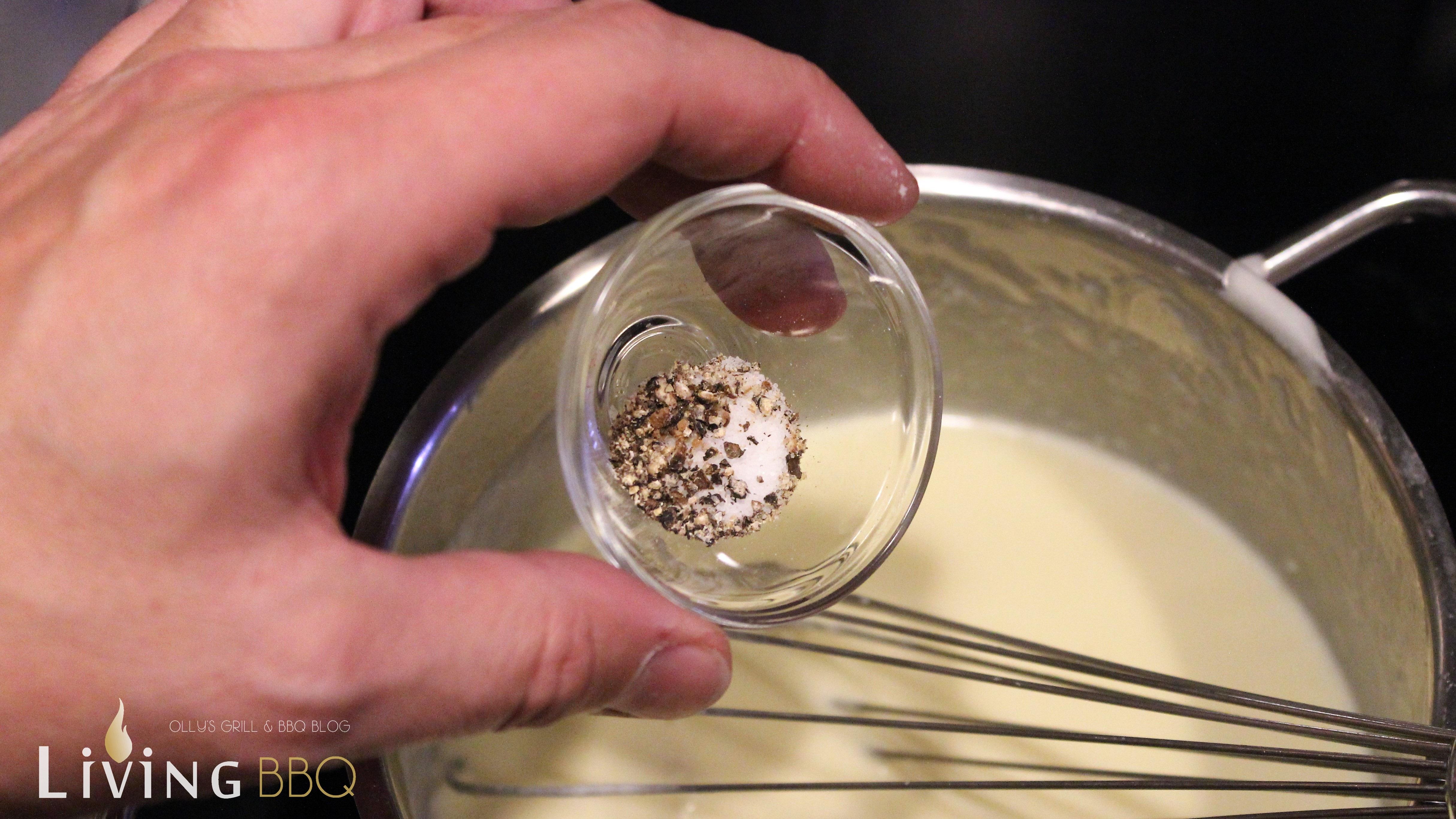 Salz und Pfeffer makkaroni mit käse_Makkaroni und K  se Salz und Pfeffer