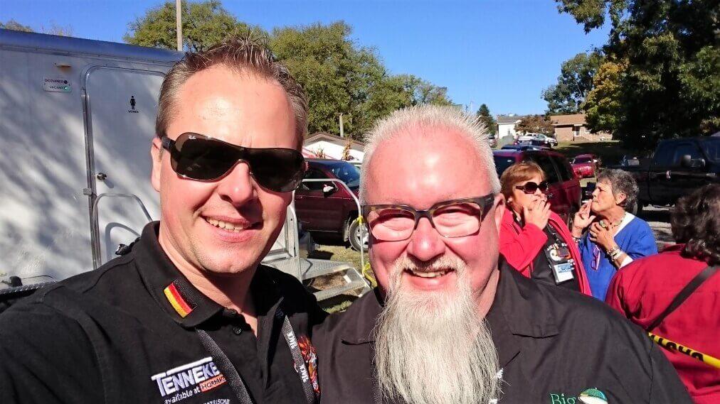Selfie mit Ray Lampe
