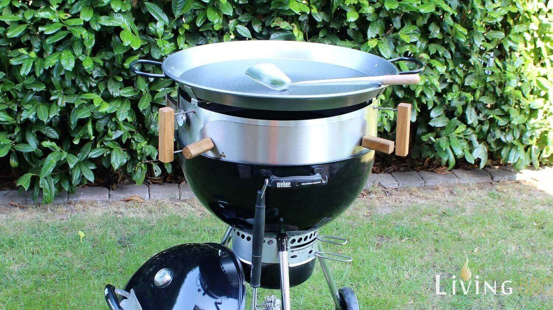Moesta Pan BBQ Set moesta-bbq_Moesta BBQ Pan auf Kugelgrill
