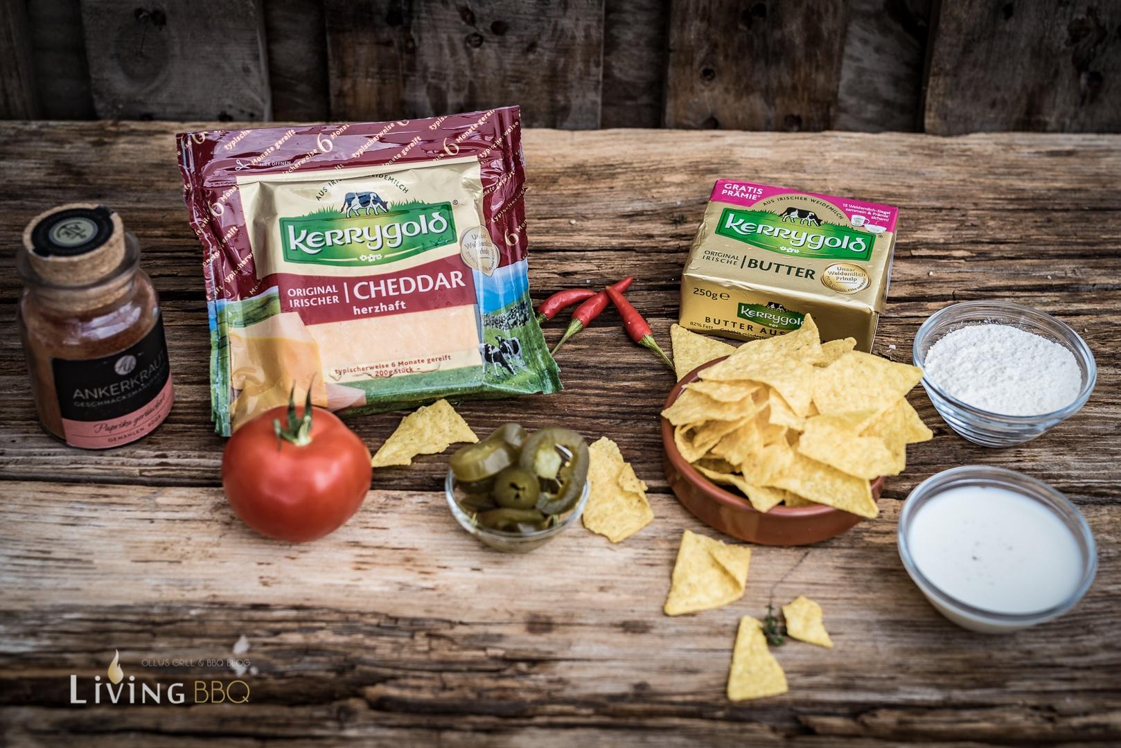 Nacho Käsedip Zutaten