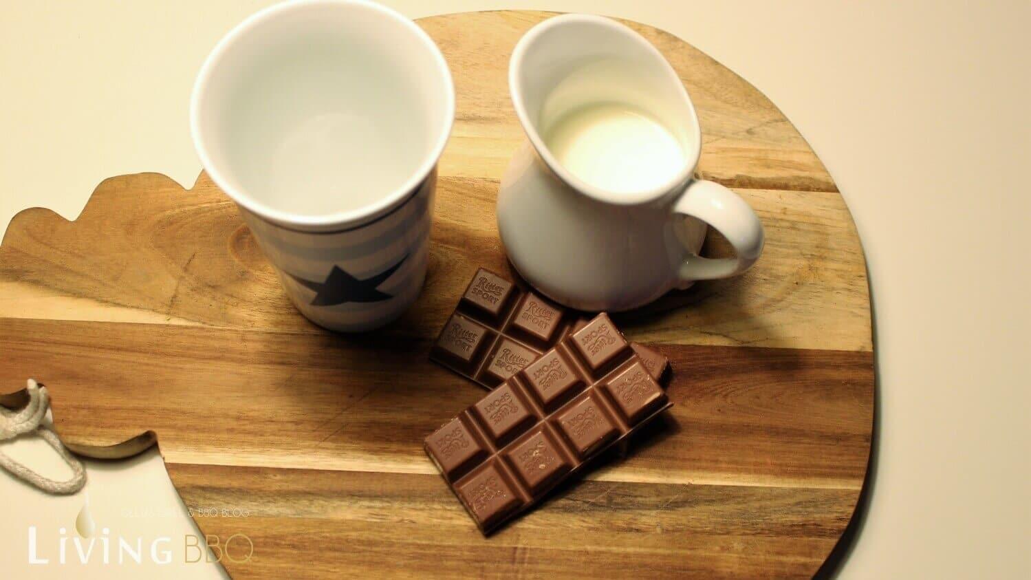 Heiße Schokolade Zutaten