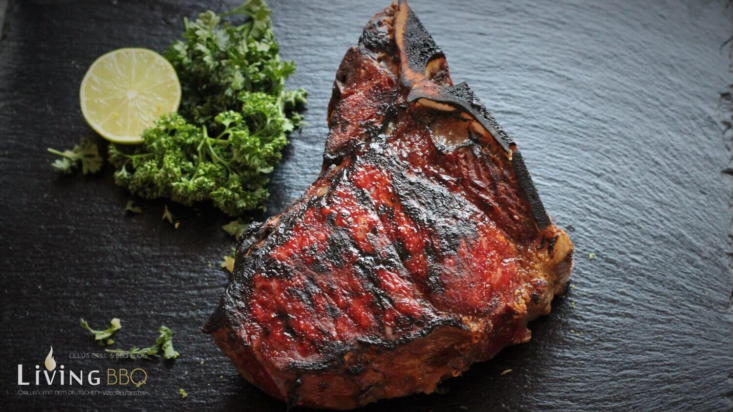 Dry Aged T-Bone Steak grillen Gremolata gremolata_Dry Aged T Bone Steak Beefer