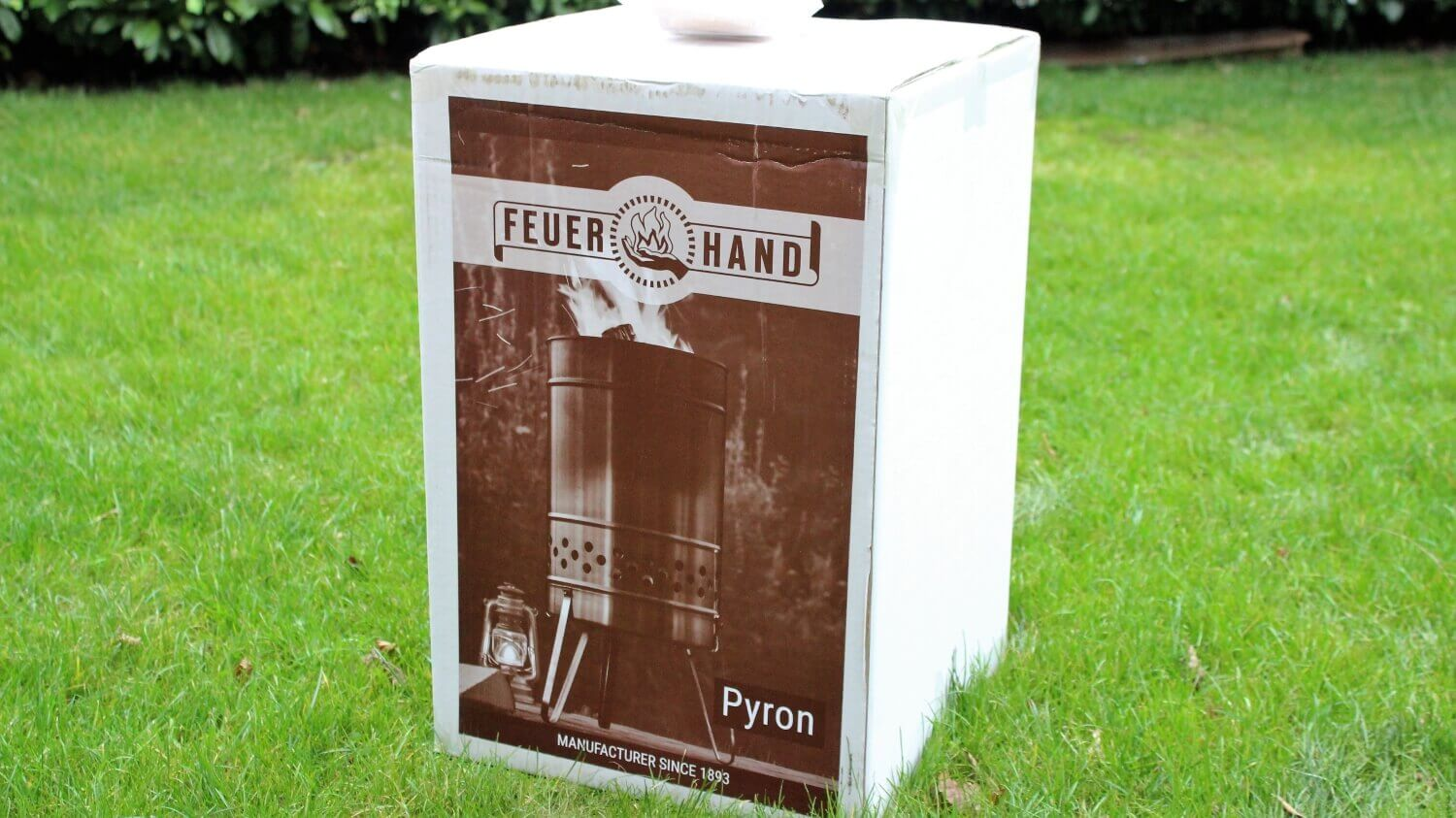 Verpackung Feuerhand Pyron