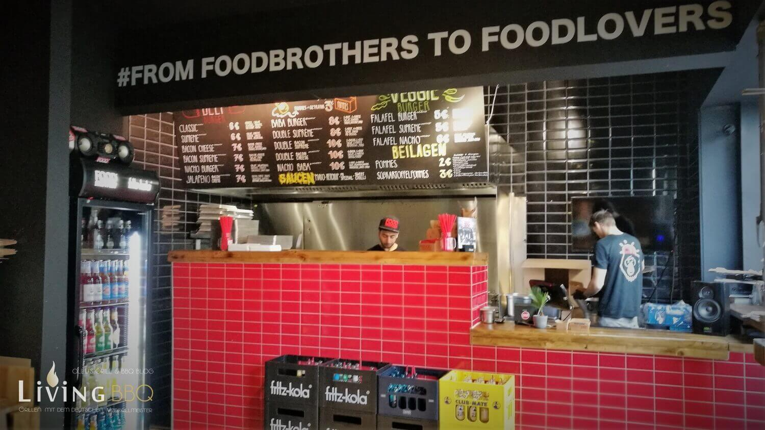 Food Brother Dortmund Theke