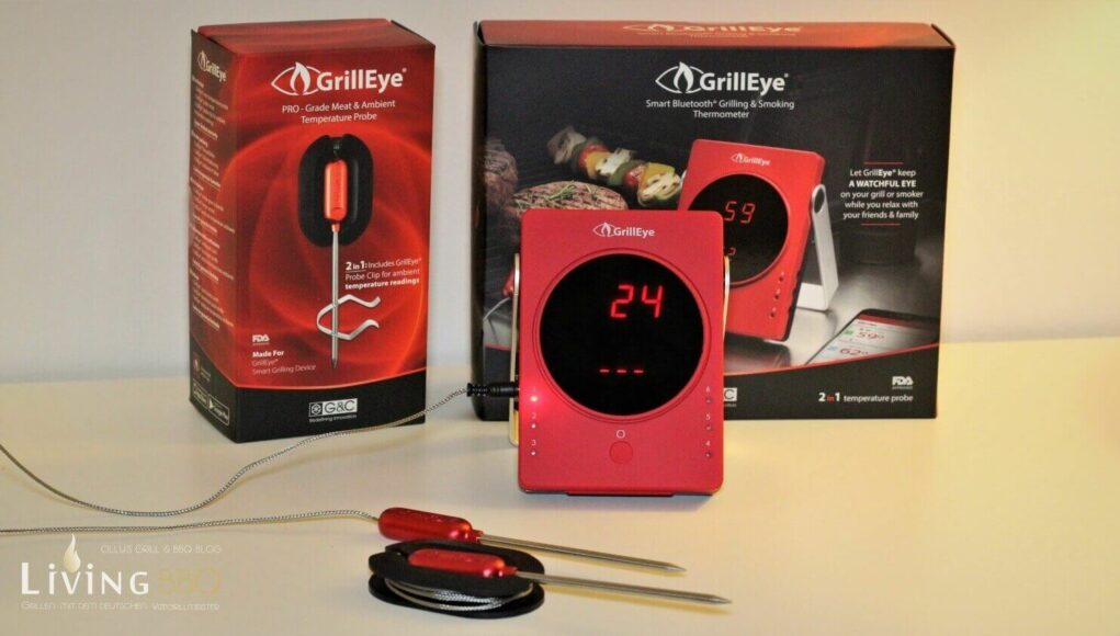 Grill-eye Bluetooth Grill-Thermometer