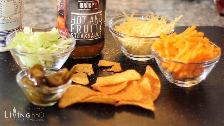 Pulled Pork Nachos pulled pork nachos_Weber Steak Sauce Fruity