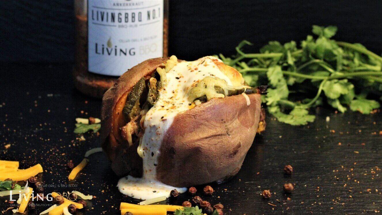 gefüllte süßkartoffel_gef  llte S    kartoffel LivingBBQNo