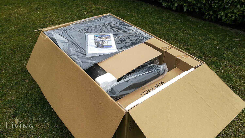 Verpackung des Gasgrill campingaz master 4 series classic sbs_Campingaz Master 4 Series Classic SBS